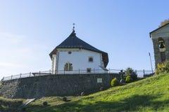 Kyrka i Polen Arkivfoto
