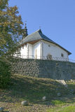 Kyrka i Polen Arkivbild