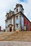 Kyrka i Porto fotografering för bildbyråer
