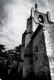 Kyrka i Provence Royaltyfria Foton