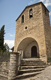 Kyrka i Puebla de Roda, Spanien Arkivfoto