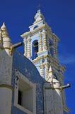 Kyrka i Puebla Mexico Arkivfoto