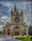 Kyrka i Reims Arkivfoton