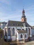 Kyrka i Saarbrucken Arkivbild