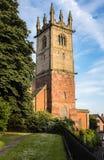 Kyrka i Shrewsbury, England Arkivbild