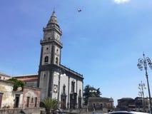 Kyrka i Sicilien arkivbilder