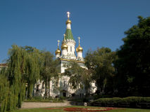 Kyrka i Sofia royaltyfria foton