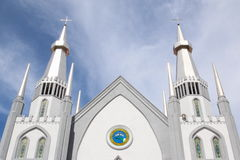 Kyrka i Sorong Arkivbilder