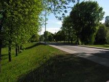 Kyrka i staden av Minsk Vitryssland royaltyfri bild