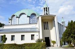 Kyrka i staden av Wien royaltyfri fotografi