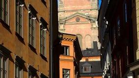 Kyrka i Stockholm sweden arkivfilmer