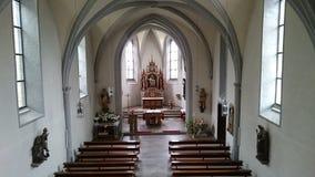 kyrka i stuppach som är dålig-mergrntheim fotografering för bildbyråer