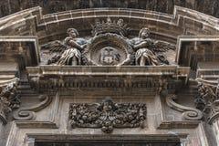 Kyrka i Syracuse Arkivfoto