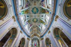 Kyrka i Ternopil Royaltyfri Foto