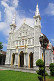 Kyrka i Thailand Arkivfoton