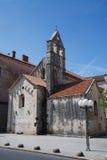 Kyrka i Trogir Arkivbilder