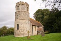 Kyrka i UK arkivfoto
