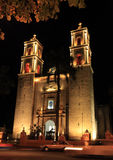 Kyrka i Valladolid Yucatan royaltyfri fotografi