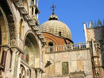 Kyrka i Venedig Royaltyfria Foton