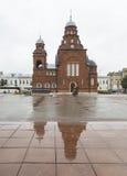 Kyrka in i vladimir, ryssfederation royaltyfri foto