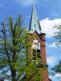 Kyrka i Werder Arkivfoton