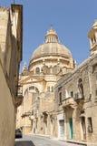 Kyrka i Xewkija, Gozo, Malta Royaltyfria Bilder