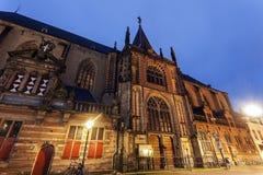 Kyrka i Zwolle royaltyfria bilder