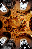 Kyrka inom Royaltyfri Fotografi