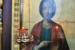 Kyrka kyrkligt ortodoxt Royaltyfri Bild