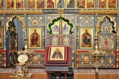 Kyrka kyrkligt ortodoxt Kristendomen C Arkivbilder