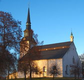 Kyrka Lindesbergs Στοκ Φωτογραφίες