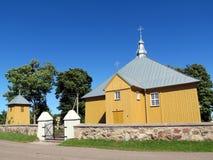 Kyrka Litauen royaltyfri foto