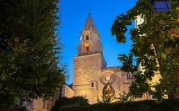 kyrka Notre-Dame-des-Accoules i Marseille Marseille Provence-Alpes-skjul D ` Azur, Frankrike royaltyfri foto