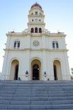 Kyrka och fristad för El Cobre Arkivbilder