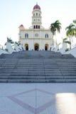 Kyrka och fristad för El Cobre Fotografering för Bildbyråer