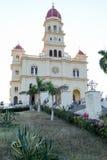 Kyrka och fristad för El Cobre Arkivbild