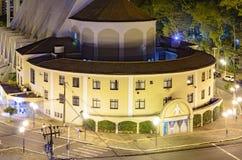 Kyrka på centrum av Londrina Arkivbild