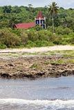 Kyrka på Eua-ön Arkivbilder