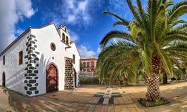 Kyrka på Garafia (La Palma, kanariefågelöar) 02 Royaltyfri Bild