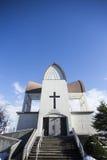 Kyrka på Hakodate arkivbild