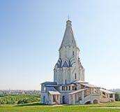 Kyrka på Kolomenskoe, Ryssland Arkivfoton