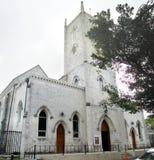 Kyrka på Nassau, Bahamas royaltyfri fotografi