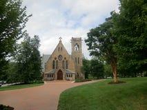 Kyrka på UVA-jordning Royaltyfri Fotografi