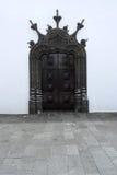Kyrka Ponta Delgada, Portugal Arkivbilder