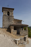 Kyrka San Pantaleon de Losa Royaltyfri Bild