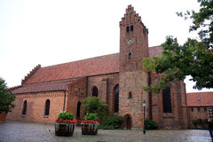 Kyrka St Peter или St Petri, Ystad, Швеция Стоковое Изображение