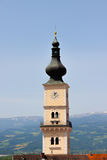 Kyrka - torn Arkivbild