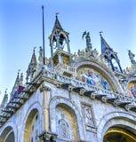 Kyrka Venedig Italien för mosaikSt Mark ` s Royaltyfri Fotografi