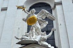 Kyrka vienna Österrike för St Michaels royaltyfria foton
