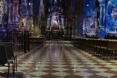 Kyrka Wien för St Stephen Cathedra Arkivfoton